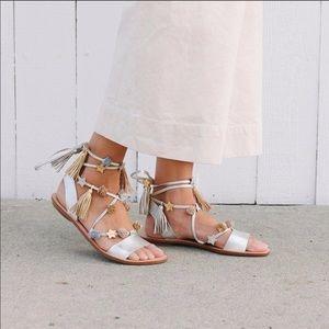 Loeffler Randall Suze Embellished Wrap Sandals